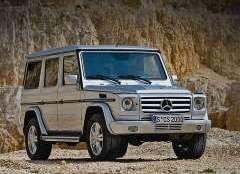 Mercedes Gelandewagen не отпускают на покой