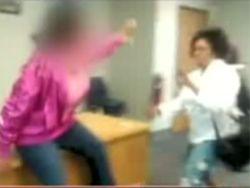 В американской школе произошла драка между учительницей и ученицей