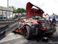 Жесткая авария в Киеве