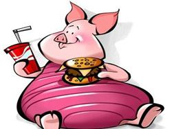 Герои мультфильмов питаются в McDonalds?