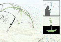 Дизайнер Эндрю Лейнонен придумал экологичный чудо-зонт