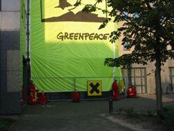 Активисты Greenpeace провозгласили в Чехии независимое государство