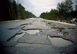 29% средств, выделенных на дороги, остались невостребованными