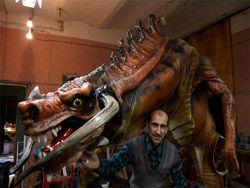 Креативные скульптуры драконов