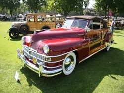 3-й ежегодный конкурс старинных автомобилей в Пасадене