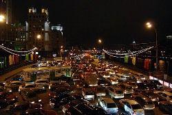 Власти Москвы разработали новые способы борьбы с пробками на дорогах