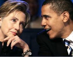 Барак Обама объявил о победе над Хиллари Клинтон