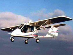В Волгоградской области разбился  одноместный самолет