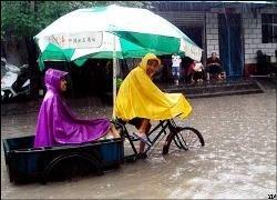 В китайской провинции Гуйчжоу из-за угрозы наводнения эвакуированы 113 тысяч жителей