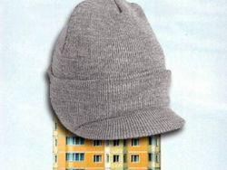 На московский дом наденут вязаную шапку