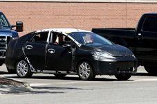 Появились шпионские фото нового седана Ford Fiesta