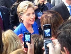 Хиллари Клинтон утверждает, что не добивается поста вице-президента