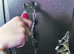 Китайские железные двери вскрываются консервным ножом