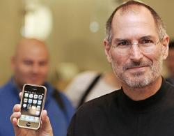 Стив Джобс - изобретатель Apple iPhone