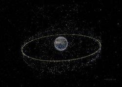 Космос превращается в мусорную свалку