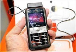 Новый Mio Leap K1 – телефон с поддержкой GPS и экранами с обеих сторон