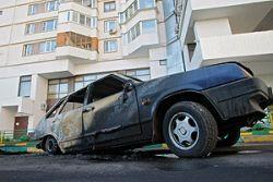 В Москве задержаны подозреваемые в поджогах автомобилей