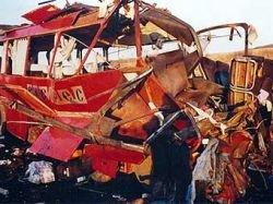 Албанца посадили на 40 лет за взрыв автобуса с сербами