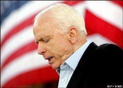 Джон Маккейн признал преимущество Барака Обамы