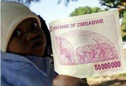 В Зимбабве за один доллар уже дают больше миллиарда