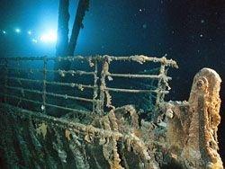 """Фотографии затонувшего \""""Титаника\"""""""
