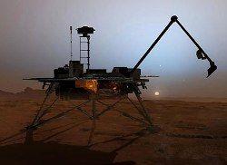 На Марсе могут выжить земные бактерии