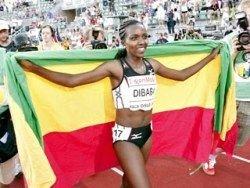 Эфиопская бегунья побила рекорд на дистанции 5000 метров