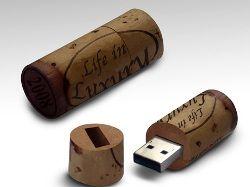 Wine Stopper USB: флешка в виде винной пробки