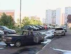 На юге Москвы сожжены еще два автомобиля