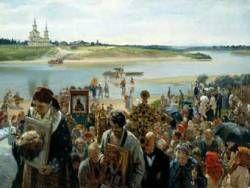 В Москве проходит объединенный крестный ход