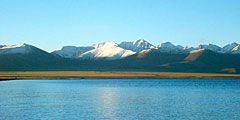 Озеро Нам-Цо – одна из популярнейших достопримечательностей Тибета