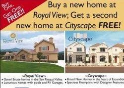 Покупай один дом, второй получай бесплатно