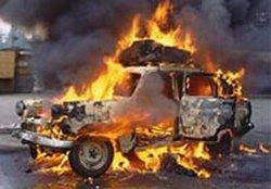 В Москве сожжены еще три автомобиля