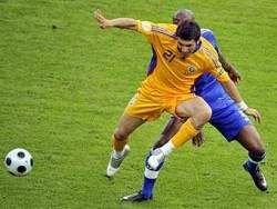 Сборная Франции не справилась с Румынией в матче Евро-2008