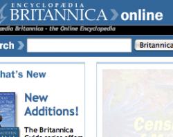 Энциклопедия Britannica идет по стопам Wikepedia