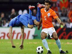 Голландцы разгромили чемпионов мира сборную Италии