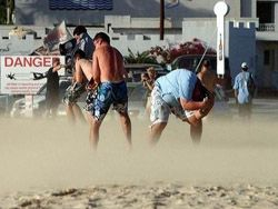 Самый экстремальный пляж в мире