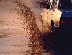 ГИБДД будет штрафовать за грязь на улице