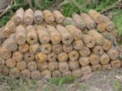В Китае на пункте приема металлолома обнаружены снаряды времен войны