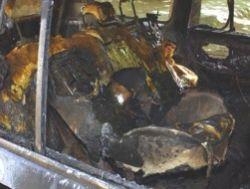 В Москве сгорели три автомобиля
