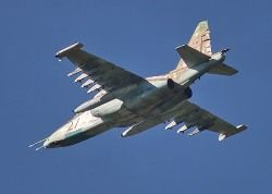 На Дальнем Востоке был сбит ракетой российский Су-25