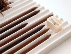 Карандаши теперь можно грызть со вкусом - они из шоколада