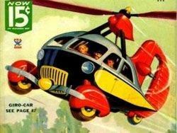 Авиация будущего с обложек журналов