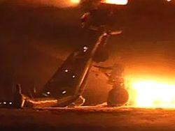 В Судане лайнер загорелся при посадке