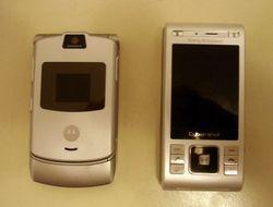 """Доступны \""""живые\"""" фотографии телефона Sony Ericsson C905"""