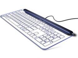 Дизайнер придумал стеклянную клавиатуру