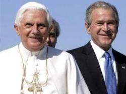 На Джорджа Буша снизошла милость Папы Римского