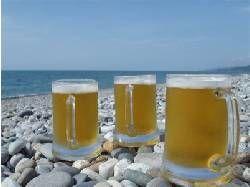 Пляжное солнышко в сочетании с пивом полезны для здоровья
