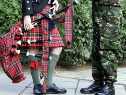 В центре шотландской столицы запретили играть на волынке