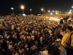 В Исламабаде состоялся 40-тысячный антипрезидентский митинг